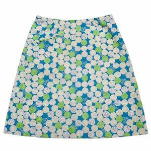 🔵🟢Vintage 1970s Lilly Pulitzer Sports Skirt🟢🔵